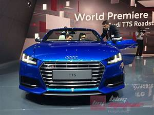 Audi Paris Est : mondial de paris 2014 l 39 audi tts roadster est l ~ Medecine-chirurgie-esthetiques.com Avis de Voitures