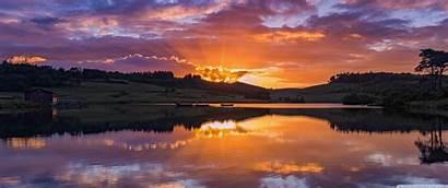 1440 3440 Wallpapers Sunset Ultrawide Background Lake