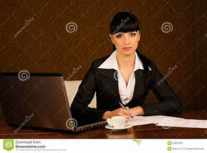 A Female Boss Royalty Free Stock Photos