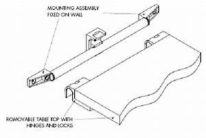 Locking Slide Table Rail