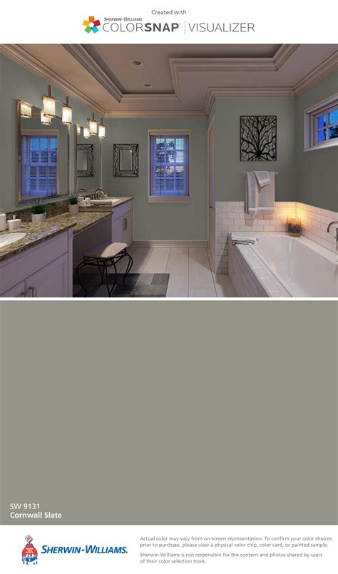 i found this color with colorsnap 174 visualizer for iphone by sherwin williams cornwall slate sw