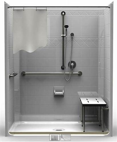 Ada Shower Roll Drain Piece Showers Accessible