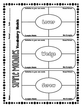 simple machines word search worksheet simple machines foldable activities quiz by the