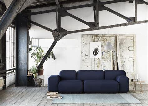 canape bleu marine deco salon bleu marine solutions pour la décoration