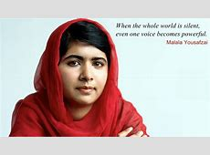Malala Yousafzai A Light In The Darkness