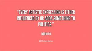 ARTISTIC EXPRESSION QUOTES image quotes at hippoquotes.com