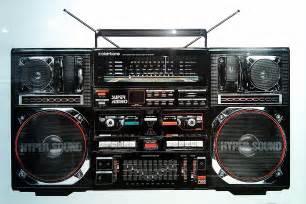 80s Ghetto Blaster Boombox