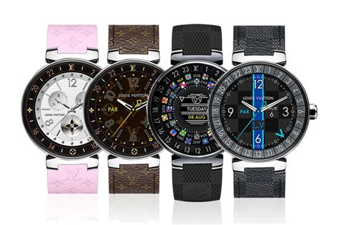 louis vuitton tambour horizon   android wear