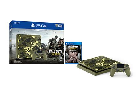 limited edition call  duty wwii ps bundle playstation