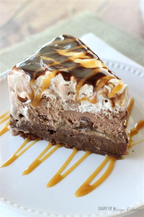 salted caramel brownie ice cream cake diary   recipe