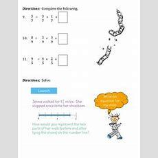 Decomposing Fractions Worksheet By Jersey Teacher Tpt