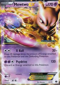 pokemon mewtwo ex card images