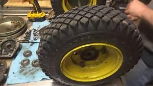 John Deere 826 1032 Snow Thrower Differential Rebuild