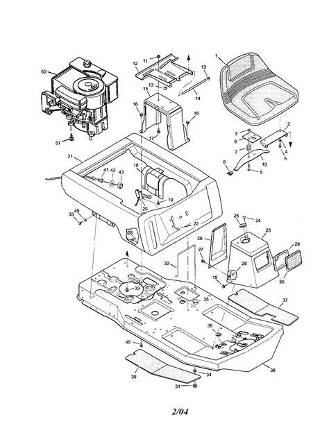 Murray Mower Carburetor Diagram by Murray Rear Engine Mower Parts Model 30550h