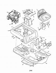 Murray Rear Engine Riding Mower Parts