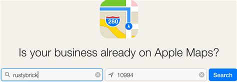 update your apple maps business listing with apple maps