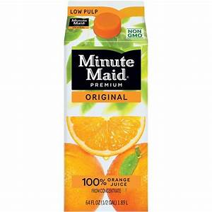 Minute Maid Premium Original 100% Orange Juice, 59 fl oz ...