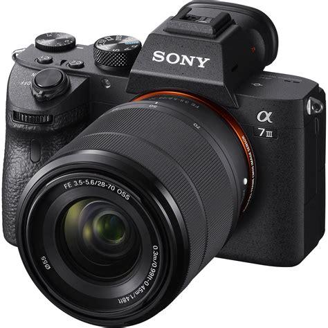 Sony Alpha A7 Iii Mirrorless Digital Camera Ilce7m3kb B&h