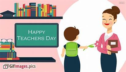 Teachers Happy Animated Cards English Quotes