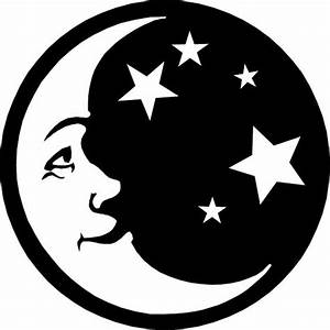 moon and stars | Silhouette | Pinterest | Vinyls, Sun and ...