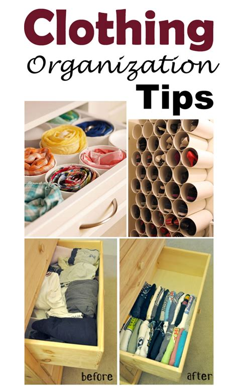 clothes organization get organized 13 awesome ideas to organize your clothes Diy