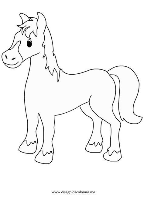 cavalli da colorare per bambini piccoli cavallo da colorare disegni da colorare