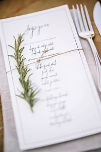 Creative and Unique Wedding Reception Menu Designs ...