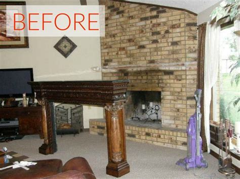 How To Use Fireplace - 10 gorgeous ways to transform a brick fireplace without