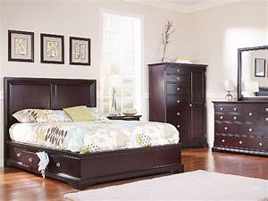 French Quarters Bedroom Suite With 2 Storage HOM Furniture