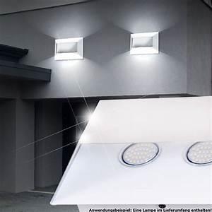 Led Beleuchtung Haus : luxus led au en wand leuchte garage haus lampe weg beleuchtung ip44 chrom edelstahl kaufen bei ~ Markanthonyermac.com Haus und Dekorationen