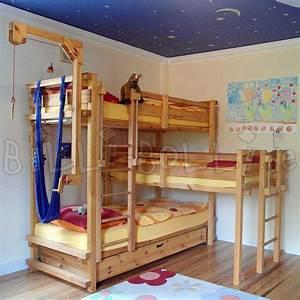 Doppelbett Für Kinder : dreier betten billi bolli kinderm bel ~ Lateststills.com Haus und Dekorationen