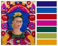 mexican color palette buscar con google color palettes With kitchen cabinet trends 2018 combined with frida kahlo wall art