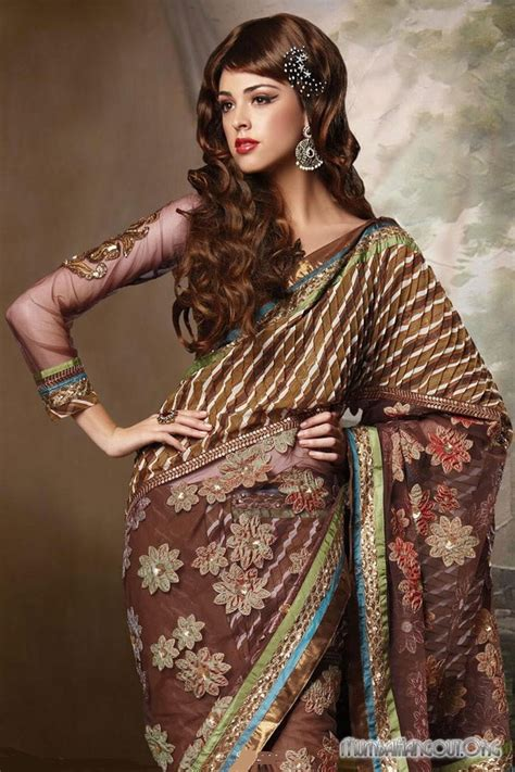fashion style indian sarees  latest designs indian