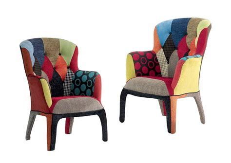Poltrona Patchwork Ebay : Poltrona Moderna Colorata In Tessuto