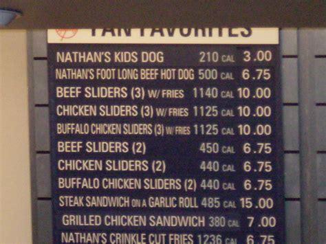 Yankee Stadium Food