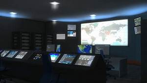 Command, Center, Enhanced, Version, Control, Military, Monitor, Security, Space, Global, Motion