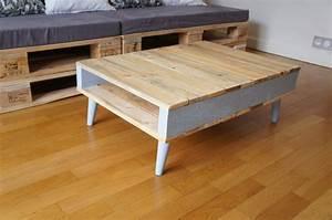 Acheter Palette Bois Castorama : table basse vintage bois great table basse vintage cm ~ Dailycaller-alerts.com Idées de Décoration