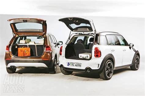 bmw x1 dimensions coffre mini countryman quelques d 233 tails visibles automobile