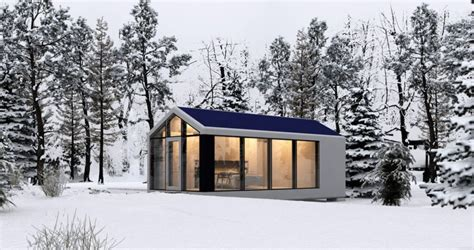 printed  grid tiny houses  withstand