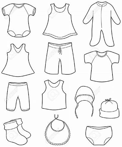 Clothes Clipart Clothing Drawing Children Vector Vest
