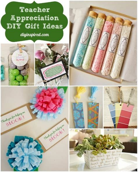 diy gift ideas teacher appreciation diy gift ideas diy inspired