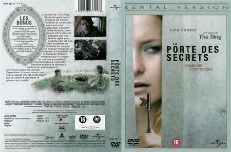la porte des secrets jaquette dvd de la porte des secrets v2 cin 233 ma