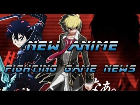anime fight game pc new anime fighting game news youtube