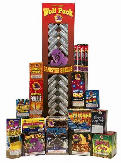 Station Fireworks Detonation Assortments Phantom Aerial Items