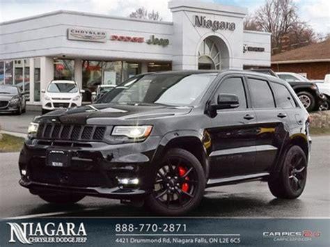 jeep grand cherokee srt demo triple black panoramic