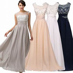 womens formal long maxi evening ball gown graduation party With formal wedding dresses