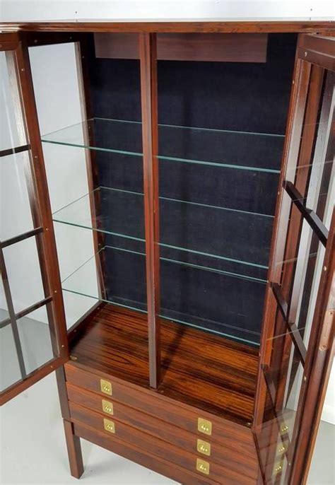 lighted curio cabinet for sale rosewood lighted curio cabinet by torbjørn afdal norway