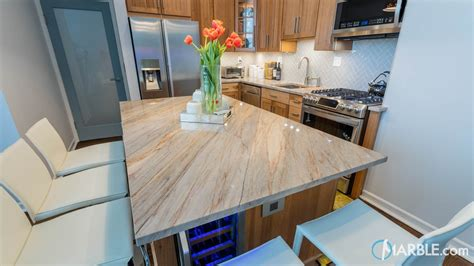 Blue Countertop by Blue Quartzite Kitchen Countertops Marble