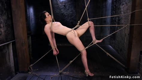 Slave In Hogtie Shaved Pussy Whipped Eporner