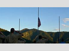 Things You Should Know How to fly a flag at halfstaff